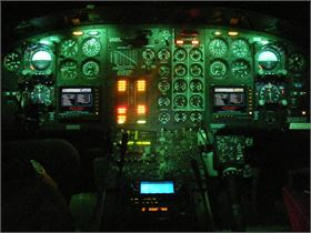 B212 NVG NVIS Aircraft Lighting Modification