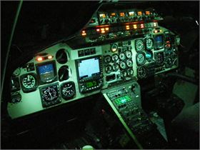B230 NVIS Aircraft Lighting Modification