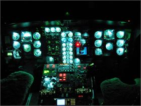 S-61 NVG NVIS Aircraft Lighting Modification