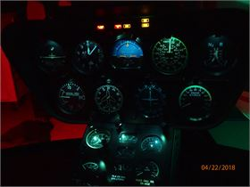 R66 NVIS Aircraft Lighting Modification
