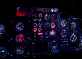AS355 NVG NVIS Aircraft Lighting Modification