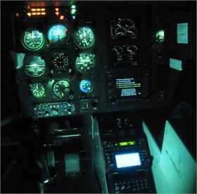 EC130 NVIS Aircraft Lighting Modification