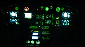 EC155 NVG NVIS Aircraft Lighting Modification